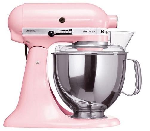 Rosa Kjøkkenmaskin